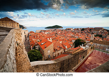 Old Town of Dubrovnik in Croatia - Scenic Old Town of...