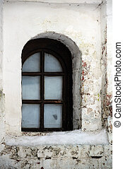 Window and Uncared Wall - Window and uncared wall in...
