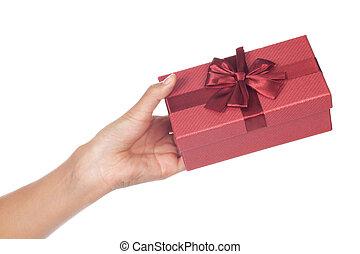 yo, amor, regalo, Dar