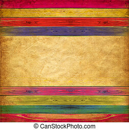 Vintage colorful paper with empty spase