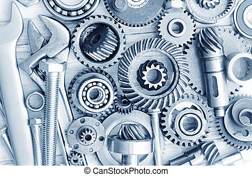 supplies for industrial, nuts and bolts