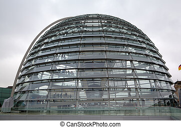 Dome of Reichstag. Berlin, Germany