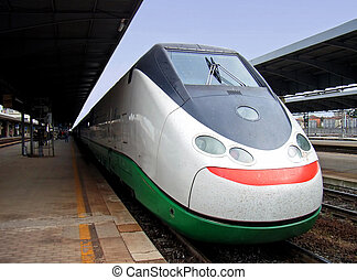High Speed Train in Italy...