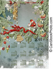 Calendar for 2013 - Calendar on 2013u0433u043Eu0434 with...