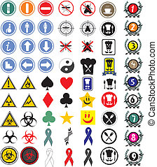 Icon and symbols - Creative design of icon and symbols