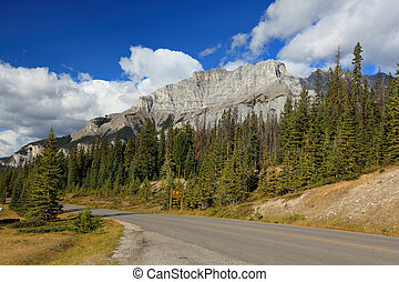 two jack lake area in banff alberta canada