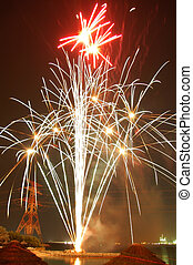 Fireworks for Guy Faulks night - Guy Faulks tried to blow up...