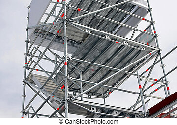 Aluminum scaffolding - Big aluminum scaffolds platforms for...