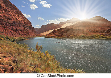 Bend of the Colorado River