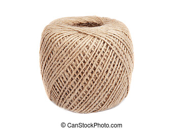 Natural twine ball