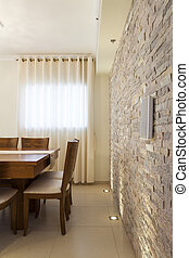 Dining Room - Decorative Wall in Dining Room