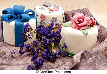 bolo, decorado