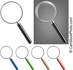 Magnifying Glass Big Set