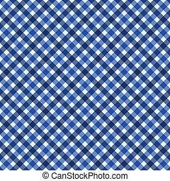 Navy Blue Gingham Fabric Background - Navy Blue Gingham...