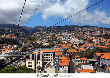 Cablecar, Madeira island, Portugal