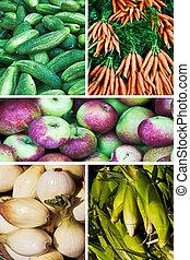 legumes, fruta,  &