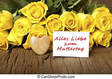 """Alemán, palabras, """"Alles, liebe, zum,..."""