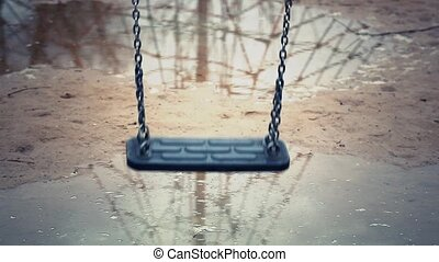 Swing slowly swinging