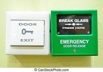 Door and Emergency Alarm