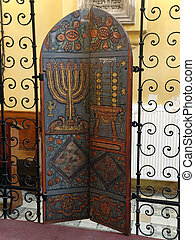 Krakow - Remuh Synagogue is the smallest of all historic...