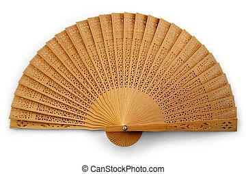 Folding fan - Wooden Folding Fan