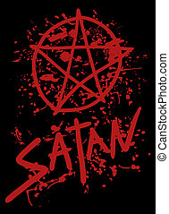 Satan cover - Creative design of satan cover