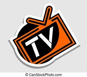 Screen tv - Creative design of screen tv