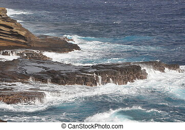 East Coast of Oahu in Hawaii