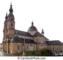 Fulda Cathedral - the Fulda Cathedral in Fulda, a city in...