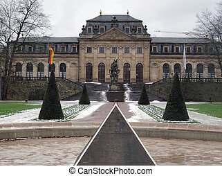 Orangery in Fulda - The Orangery in Fulda, a city in Hesse,...