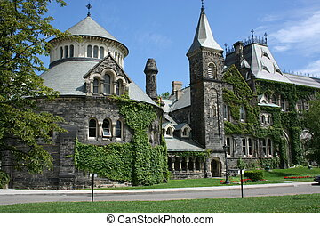 University of Toronto - buildings on the grounds of the U of...
