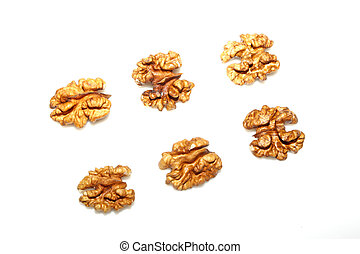 walnut - a kind of nuts named walnut, very nutritious value,...
