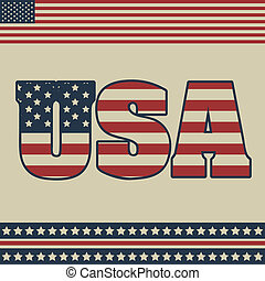 Patriot Background - Background Illustration Patriot USA in...