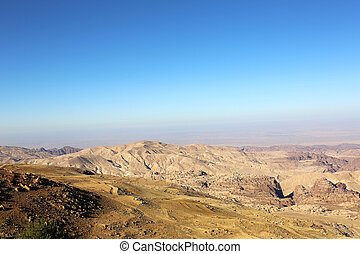 Mountains of Petra Jordan