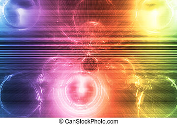 Rainbow Supernova Abstract Background Wallpaper - Rainbow...