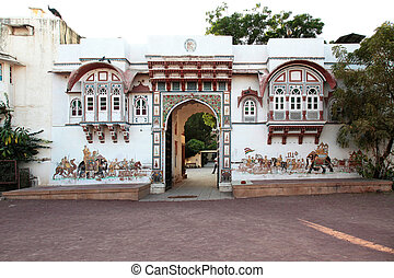 Rohet Garh Fort Rajasthan - the gate of the Rohet Garh Fort...