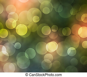 Beautiful Natural Bokeh Background