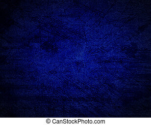 Abstract dark blue background or paper with grunge texture....