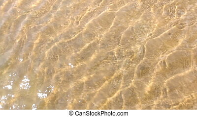 Clean water texture, with ripples a