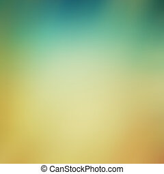 Abstract blue and yellow background or paper with grunge texture. For vintage layout design of colorful graphic art or border frame