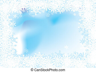 wonderland flake - Christmas background with a snow flake...