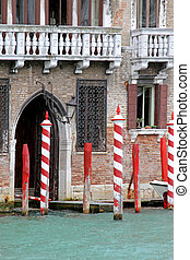 Rainy entrance Venice
