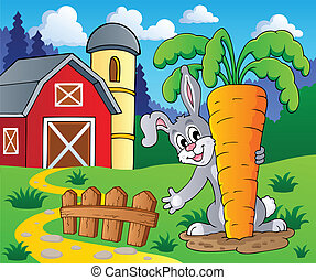 Image with rabbit theme 2