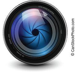 camera lens - camera photo lens with shutter