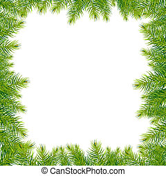 Frame With Christmas Tree