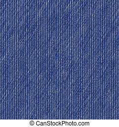Denim Jeans Texture - A denim blue jeans texture that tiles...