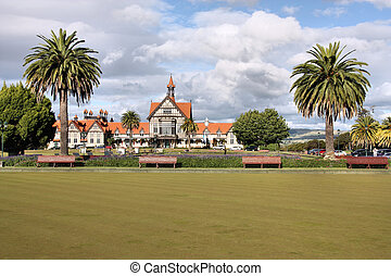 Rotorua - New Zealand - North Island Rotorua museum -...