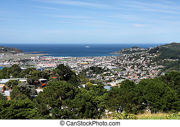 Wellington, New Zealand - Wellington city on North Island,...