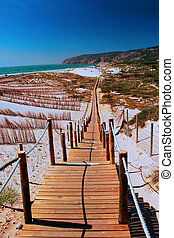 The Way to the Beach - The Steps to the Beach