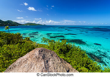 Caribbean Sea View - View of Caribbean Sea and Providencia...